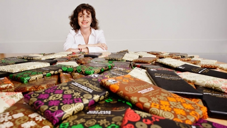 Divine Chocolate CEO Sophi Tranchell