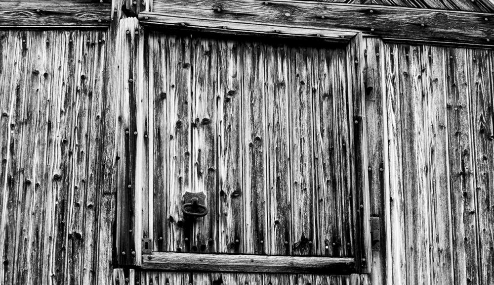 Old Barn Door -Countryside, Switzerland