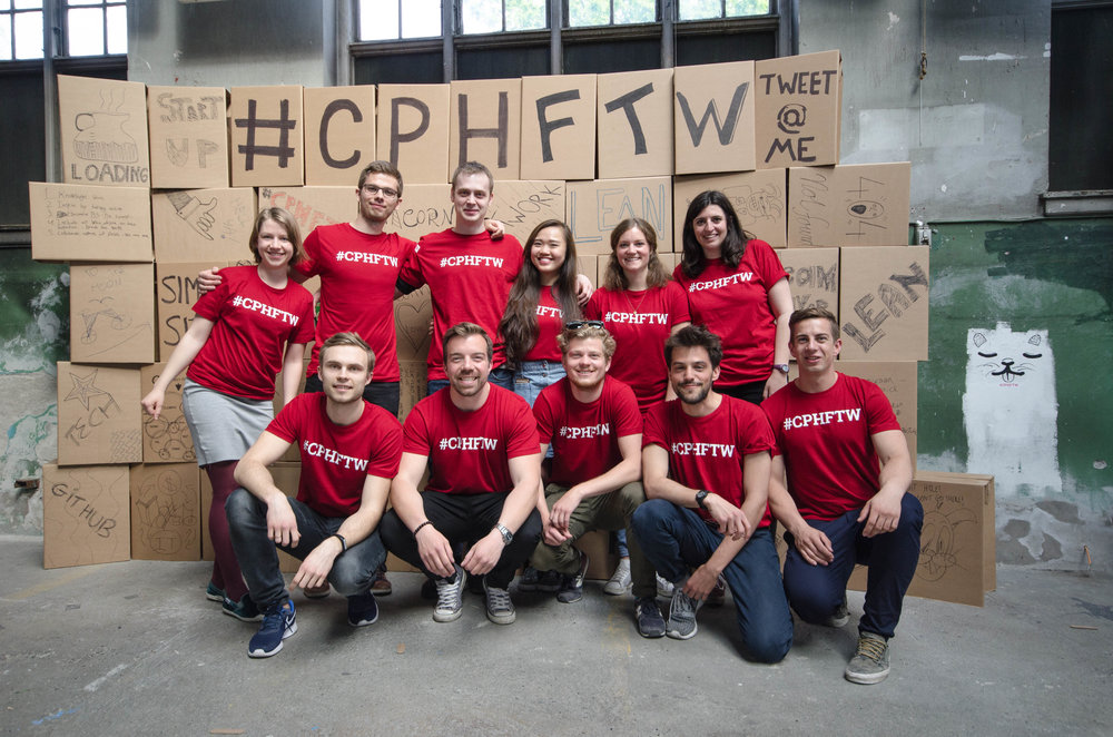 Some of the volunteers that give up their time to make the #CPHFTW Townhall events a success (Image via #CPHFTW)