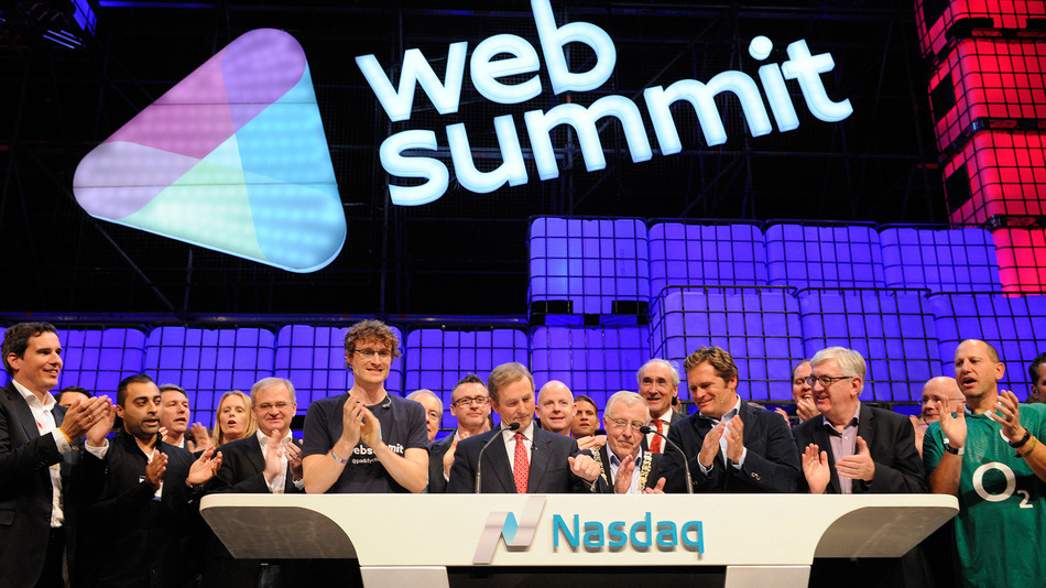 The Web Summit is an example of an Irish business embracing creative values and hitting the mainstream. Photo Credit: Mashable