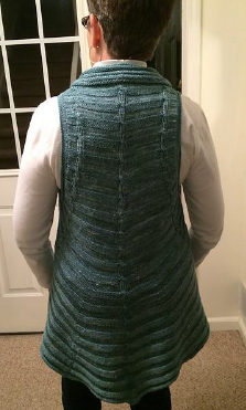 Betsy's Quirly vest