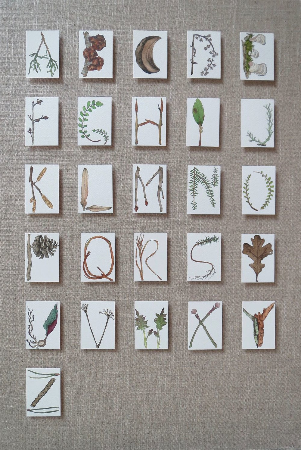Winter Alphabet 2016