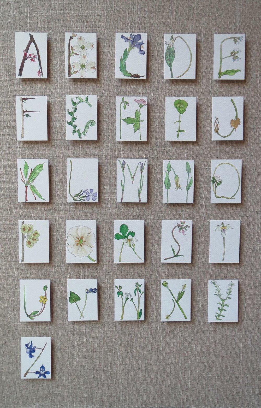 Spring Alphabet 2016