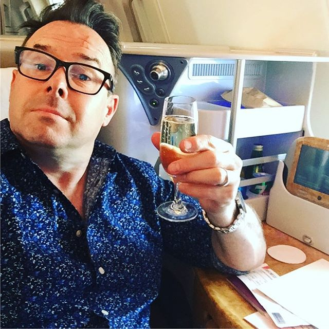Barbados to London overnight. 6 hours at Gatwick. And then on board and off to Vietnam. Flying. Love it. Event Management. Love it. Next stop Hanoi #emirates #travel #vietnam #businessclass #champagne #a380 #loveit #incentivetrip #incentives #eventplanner #eventprofs