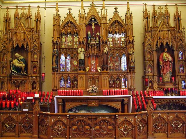 Maria Stein Relic Chapel