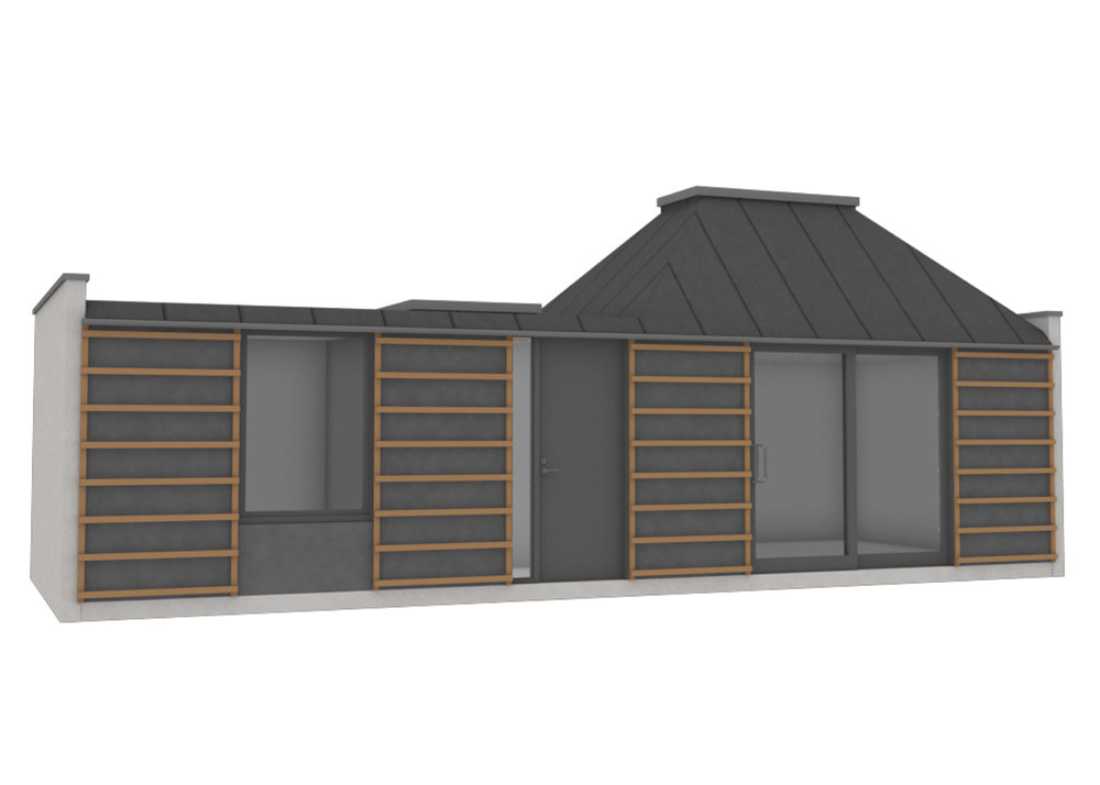 Unit Type 1, Cladding Option 3