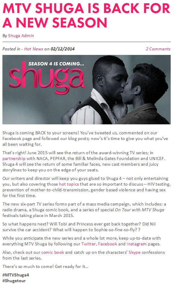 MTV Shuga is Back For a New Season.JPG