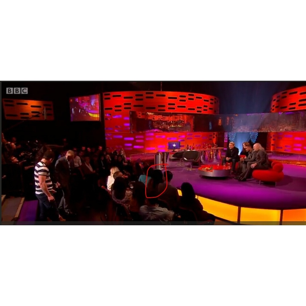 Simi at the Graham Norton Show
