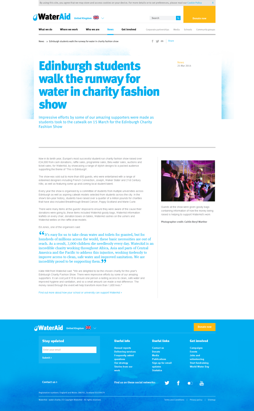 WaterAid   UK   News   Edinburgh students walk the runway for water in charity fashion show.png