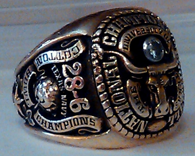 1963 National Championship ring