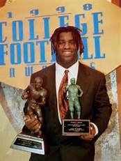 Jim Brown Trophy- Ricky Williams -