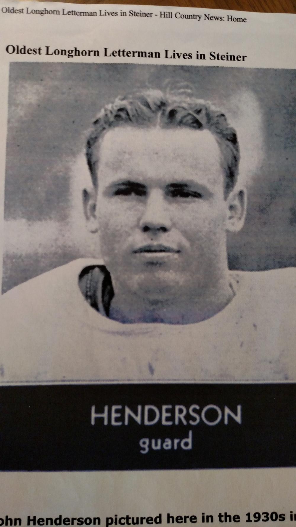 John in 1933