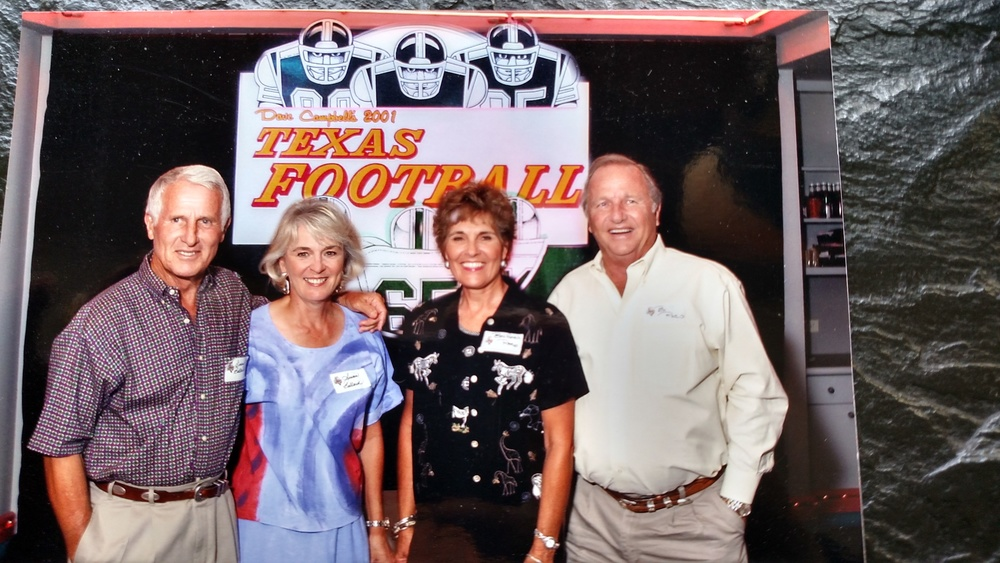 2001 Coach is honored by Dave Campbell Texas Football