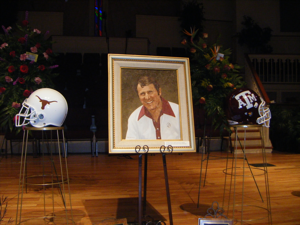 Remembered by Horns and Aggies