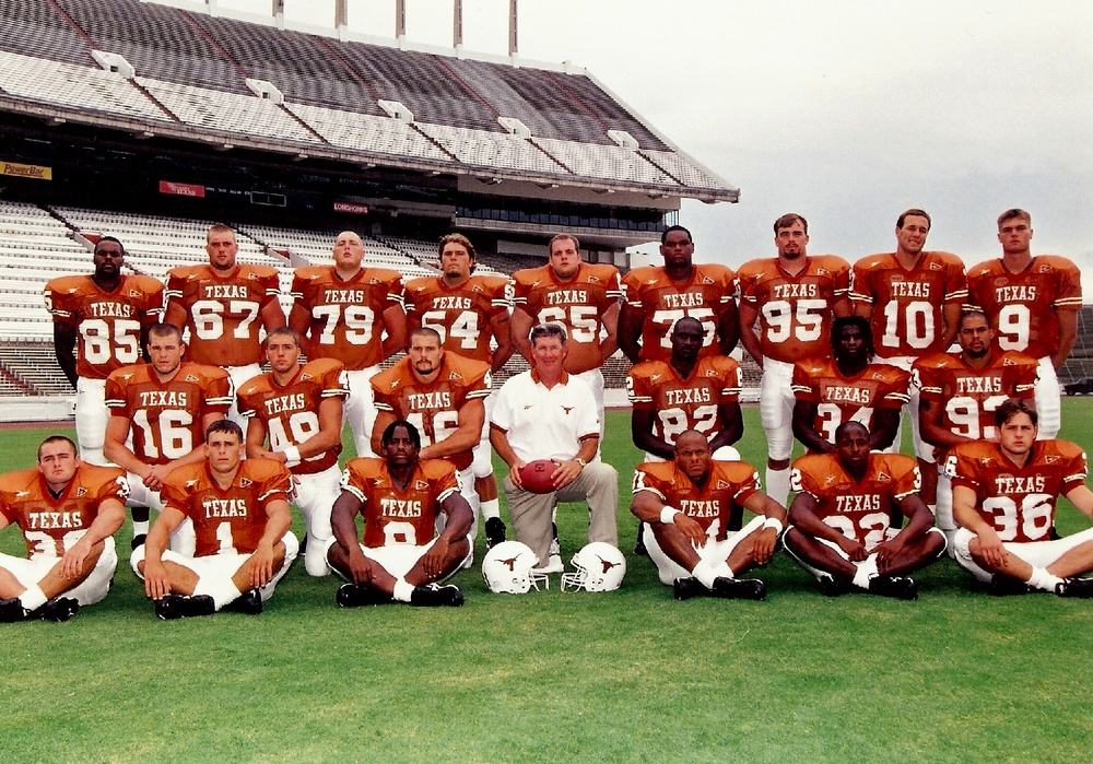 Coach Browns first graduating class 1998.