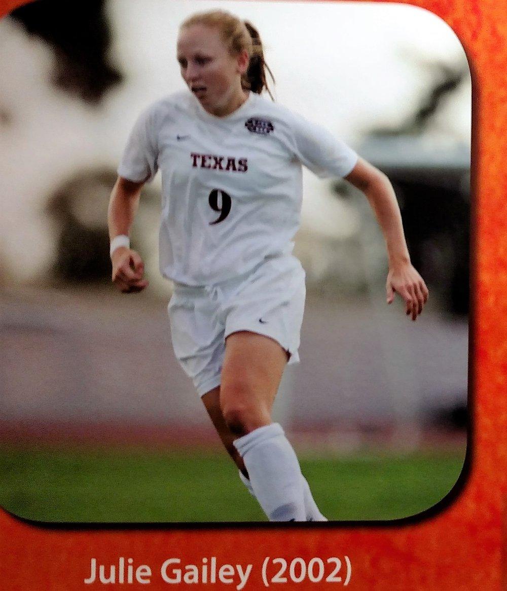 Julie Gailey- Big 12 Newcomer team
