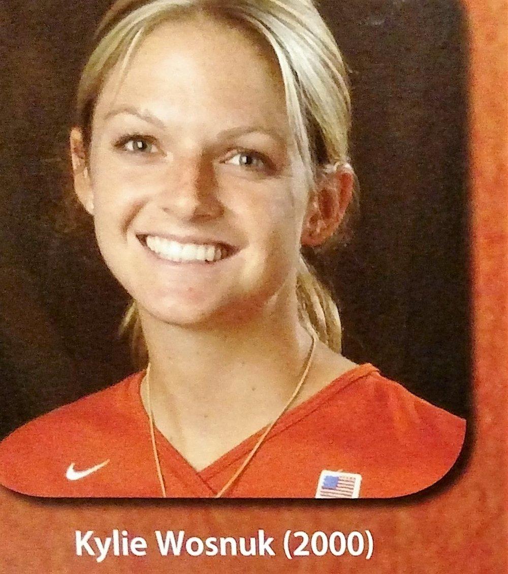 Kylie Wusnuk- Big 12 All-Newcomer