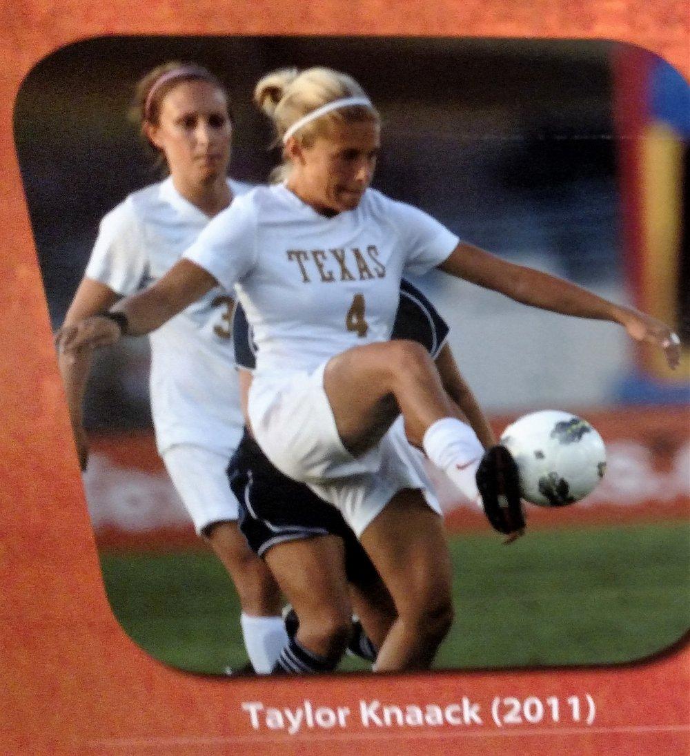 Taylor Knaack- All Newcomer team