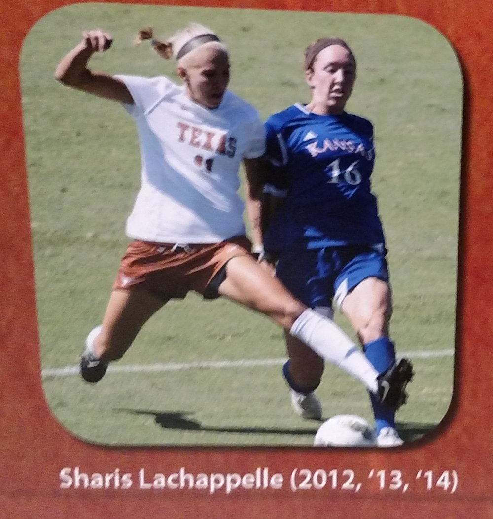 Sharis LaChappelle-All newcomer team.