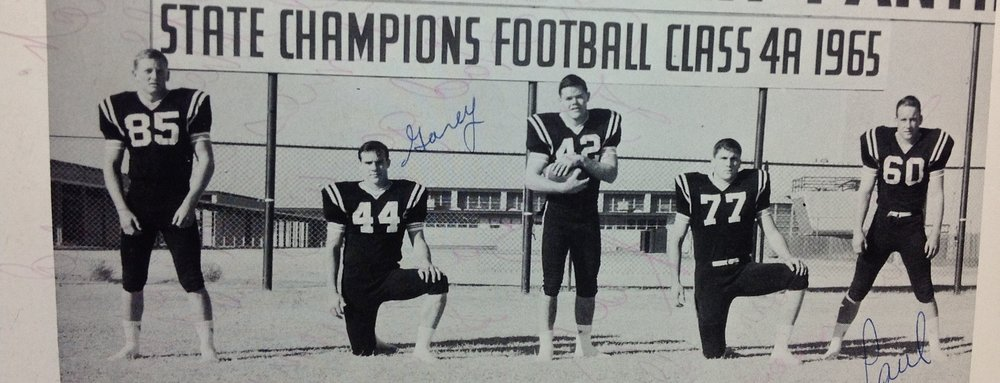 #42- 1965  Permian Panther State Champs