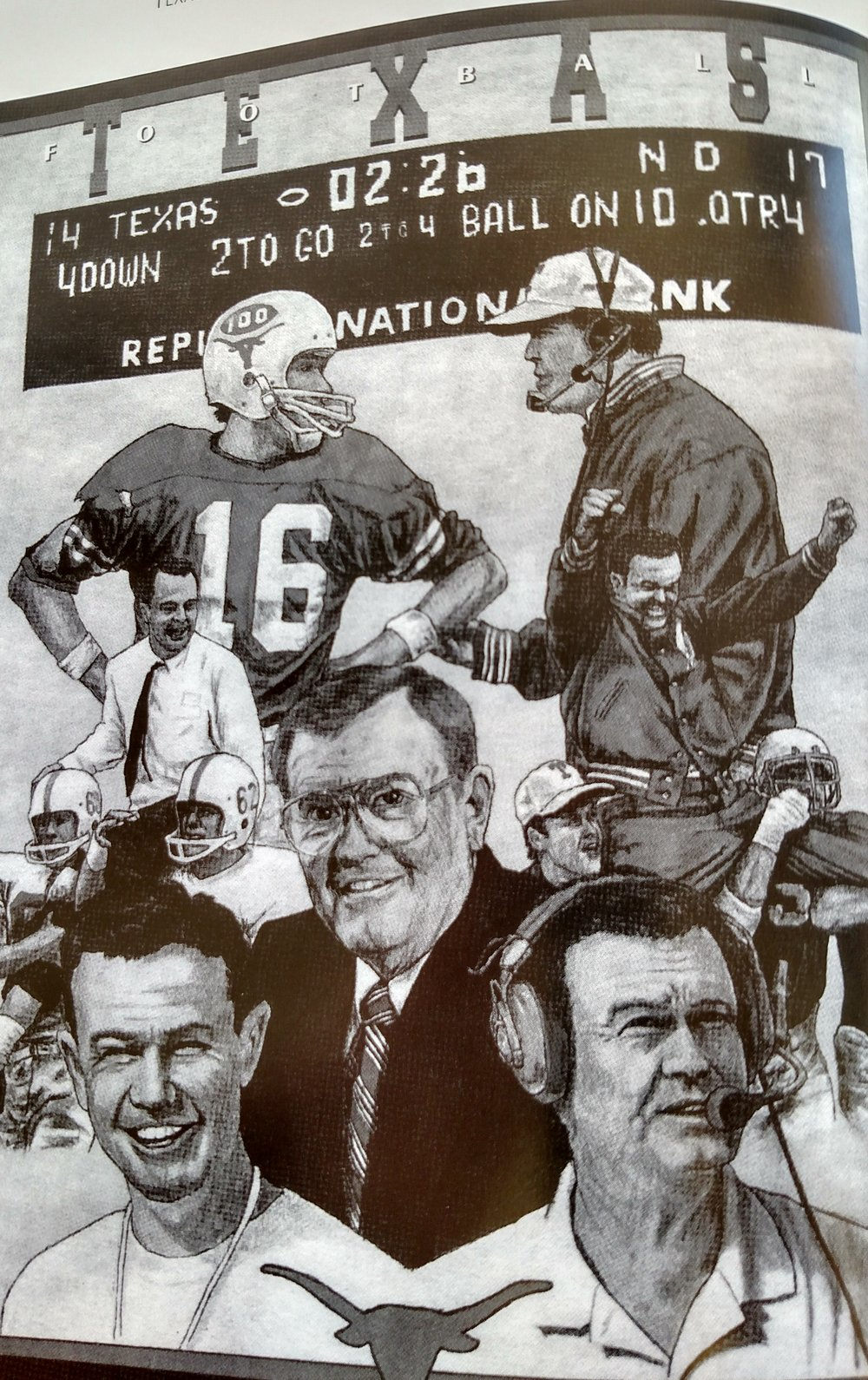 Cover to Texas Football
