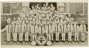 1922 UT Band uses Longhorn Logo -