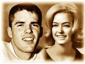 Greg Lott and Farrah Fawcett Texas Longhorns