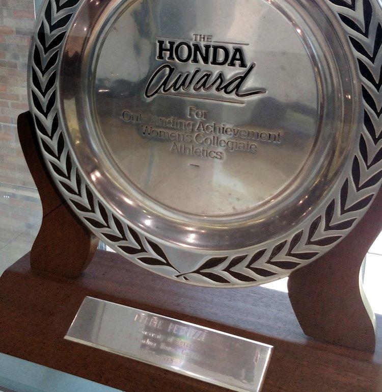 Debbie Petrizzi Honda Award