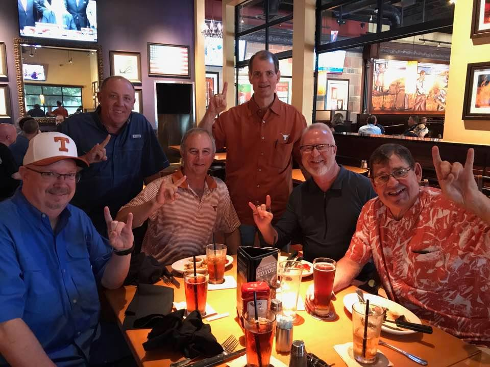 l to R Managers from the past - Jay Fenley, Mark Lord, Allen David, Jim Craig Hess, Mike Powers, Jeff Crozier- September 2017 -