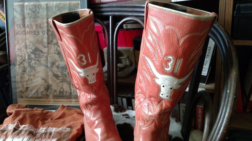Culpepper's boots -