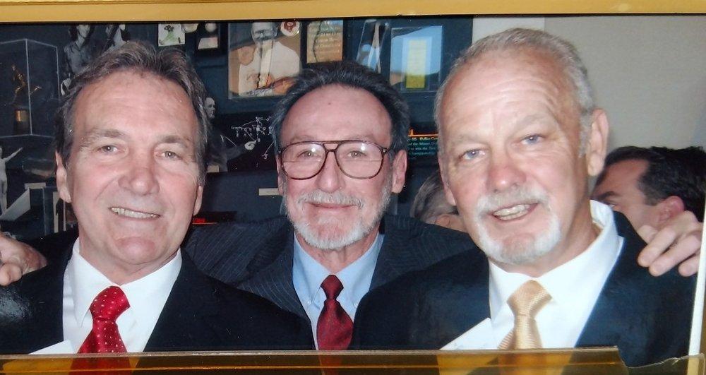 Steve Worster, Ragan Gennusa, and Bill Bradley -