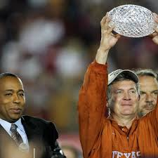 2005 National Champions with Mack Brown