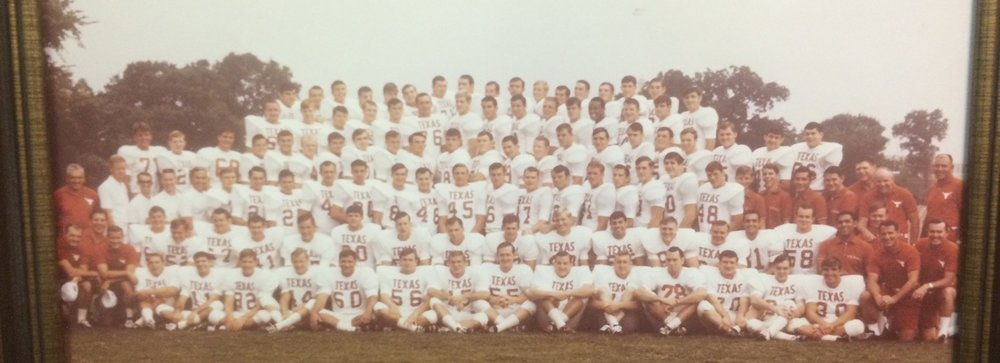 1968 Cotton Bowl Champions- Loyd is #55 right in the middle on the front row