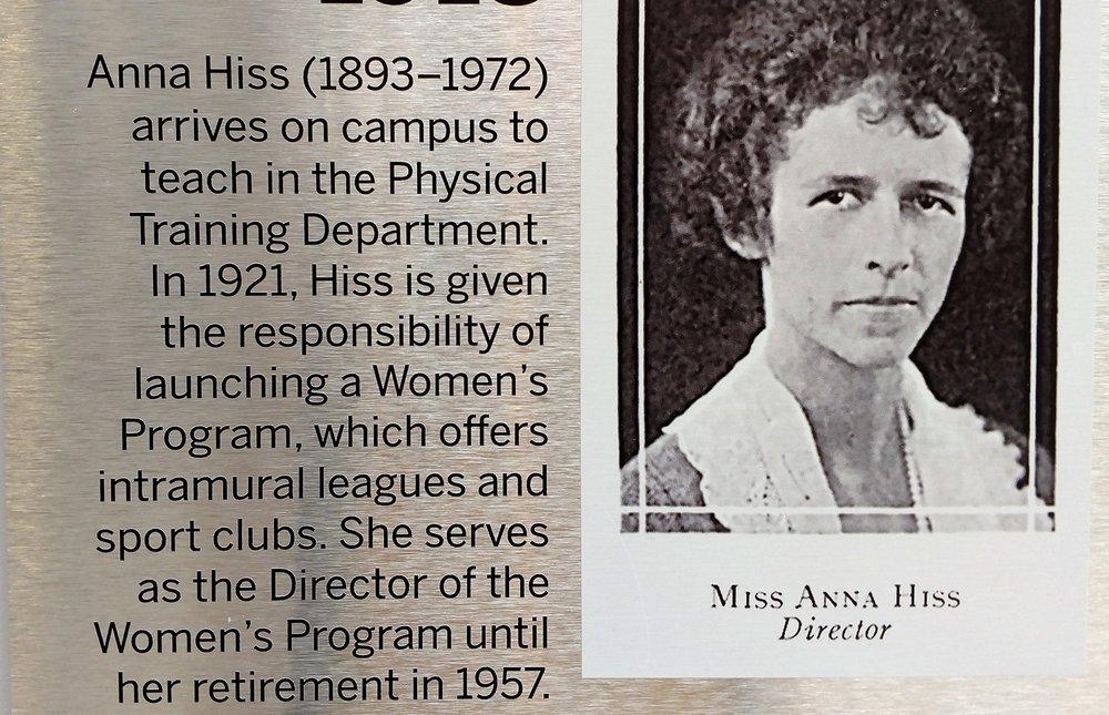 Anna Hiss -
