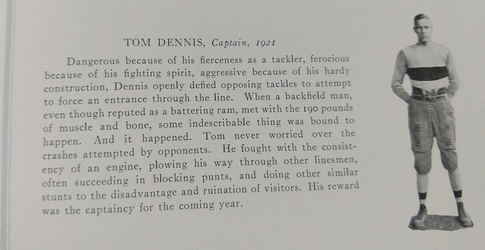 Tom Dennis  captain