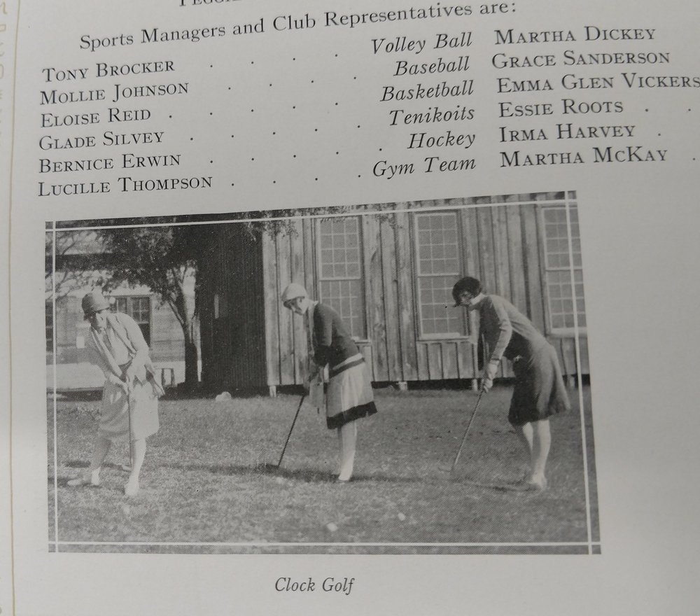 Golf 1928 -