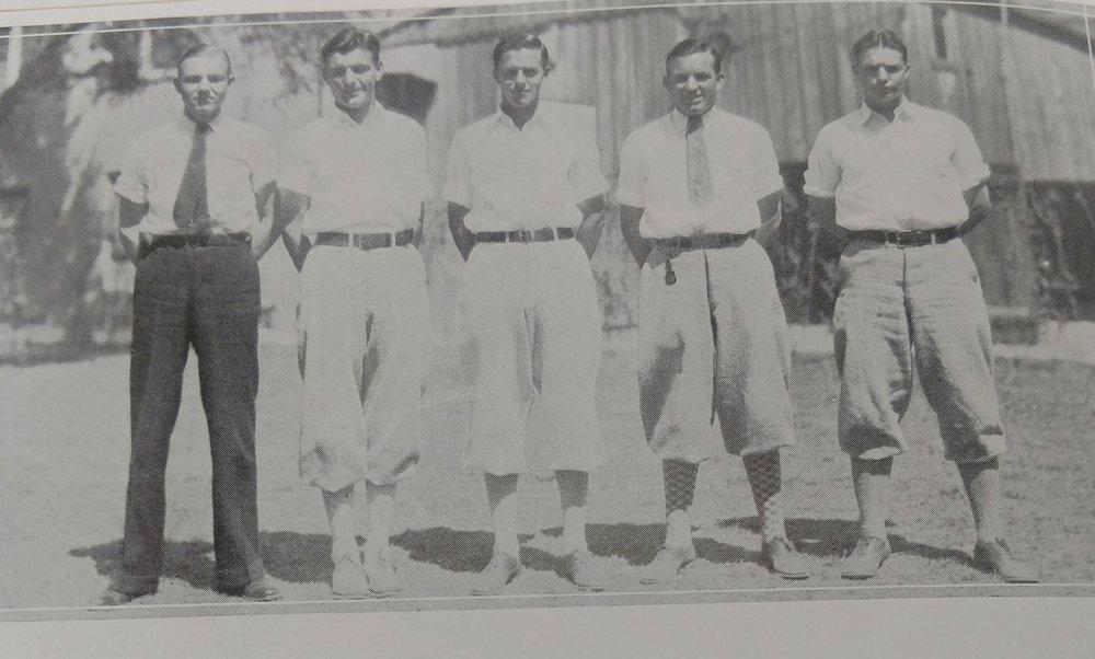 1928 golf team