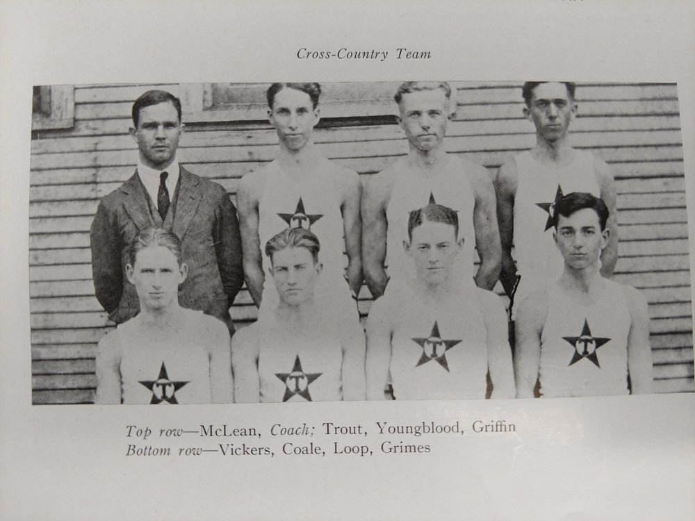Coach McLean, Trout ,Youngblood, Griffin, Bickers , Coale, Loop , Grimes