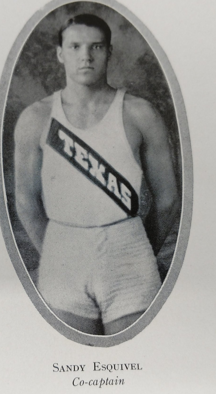 Sandi Esquivel - Sandi Esquivel is an All American and Conference Champion in Cross country in 1924 and 1925
