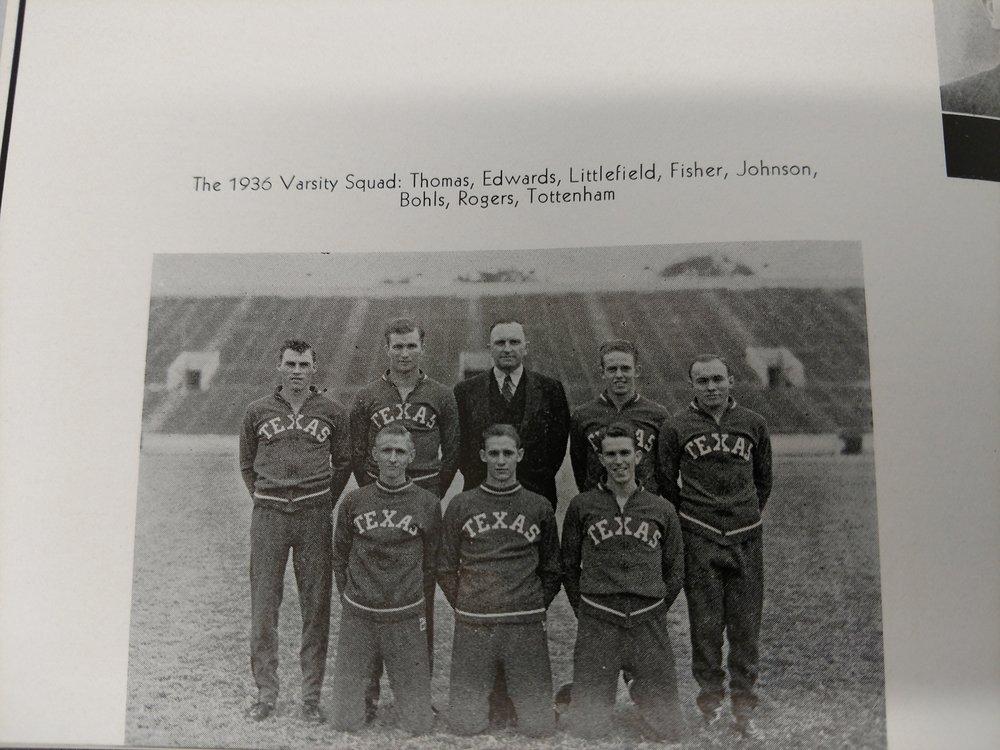 1936 varsity