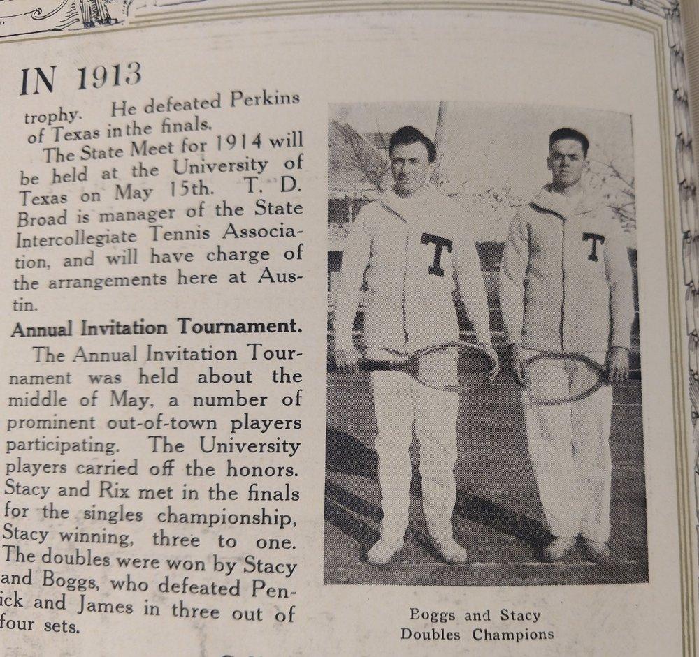 1913 Tennis