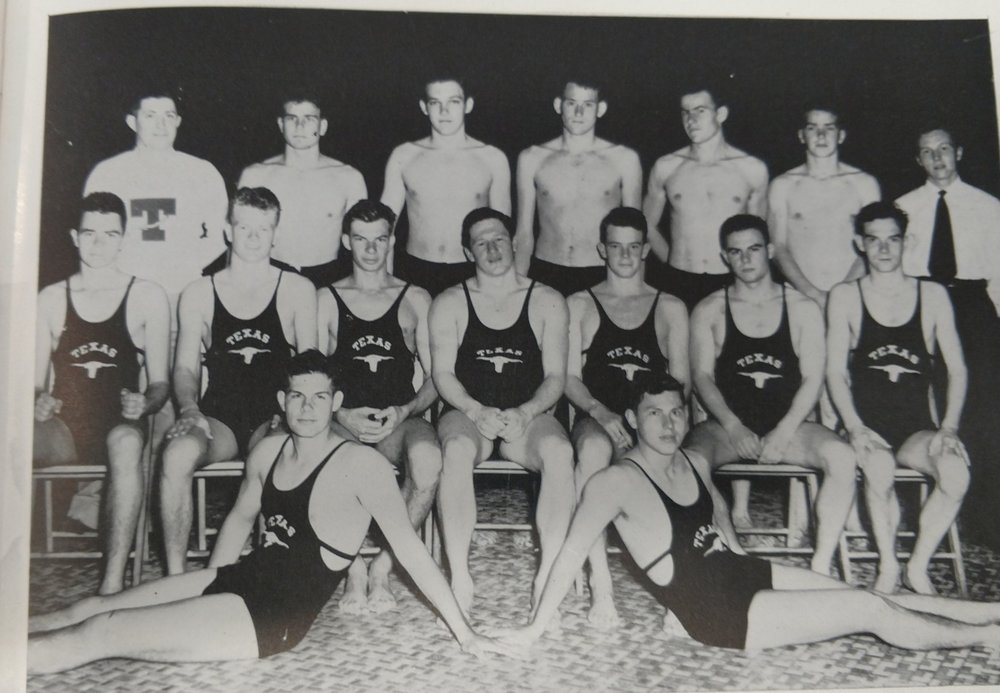 - Front row- Focht, Singletary - second row. Upham, Helms, Seidel, Pearce, Bollinger, Crossen, back row- Burnham, White, Buckles, Green, Mellenthin, Packard, and Cook