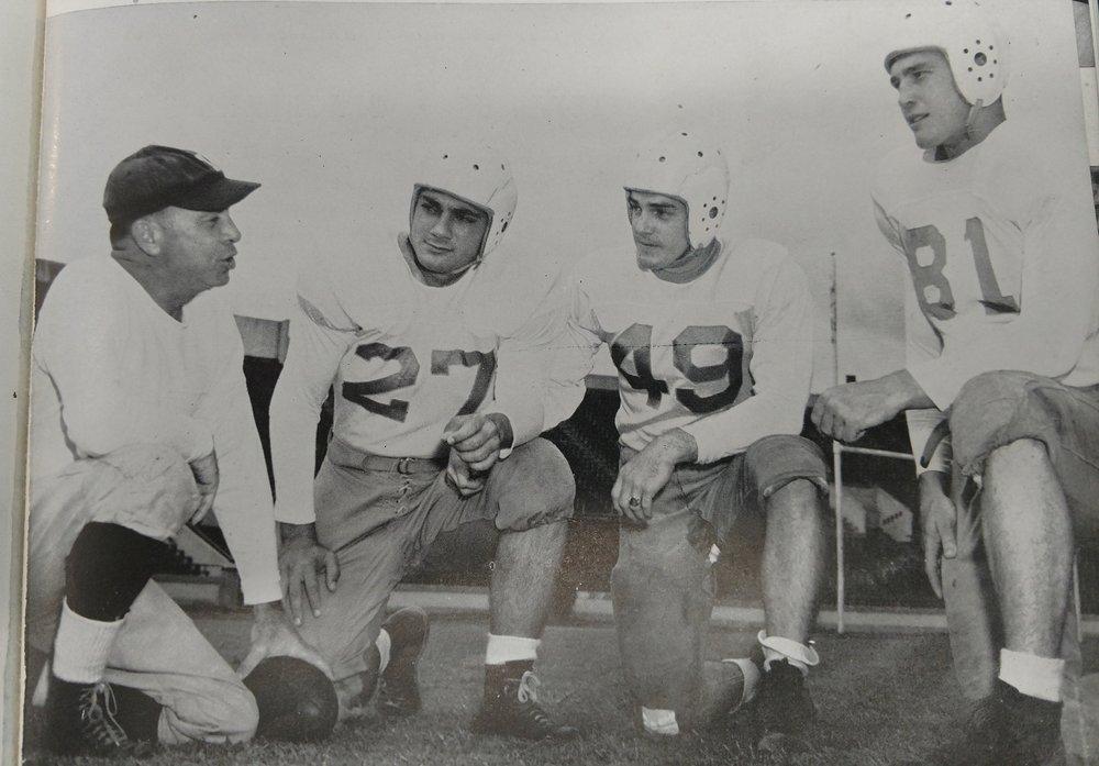 Captains Magliolo, , Park, and Parker