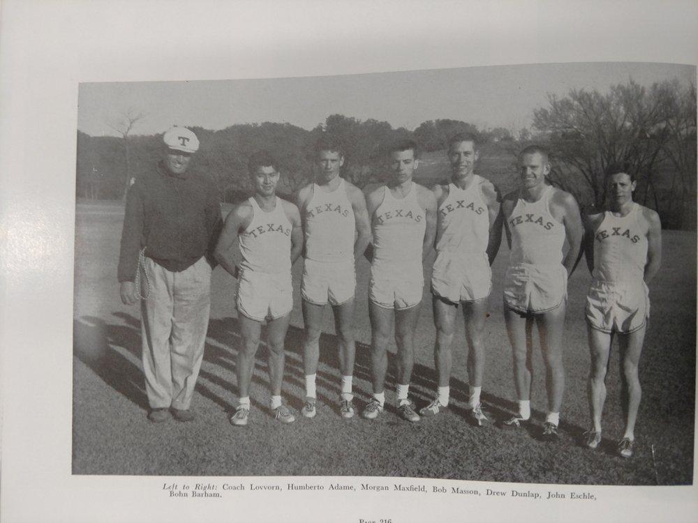 - Coach Lovvorn, Adams, Maxfield, Mason, Dunlap, Eschle