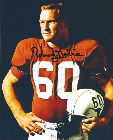 Tommy Nobis as a Senior in college