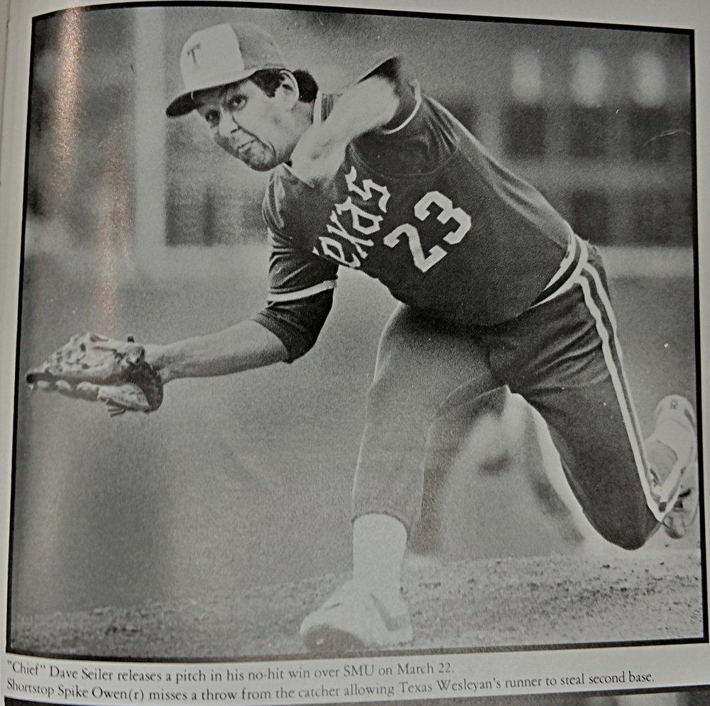 Dave Seiler - no hitter