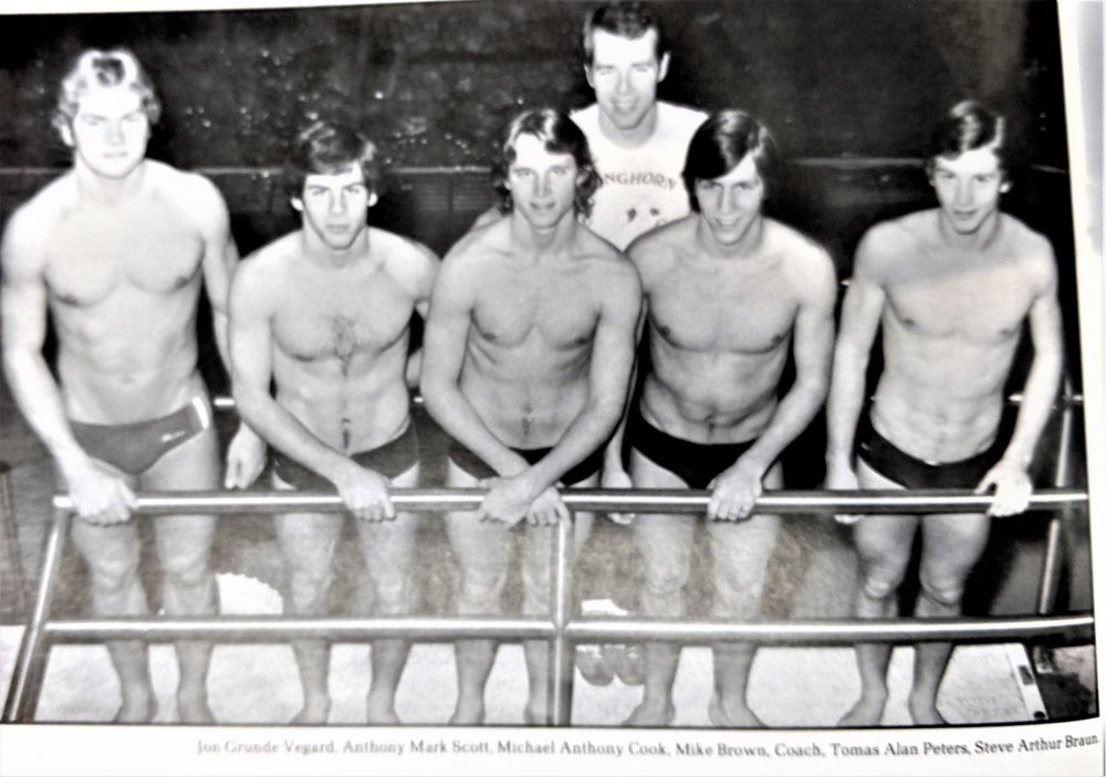 Vegard,  Scott, Cook, Peters, Bruans - Five great divers