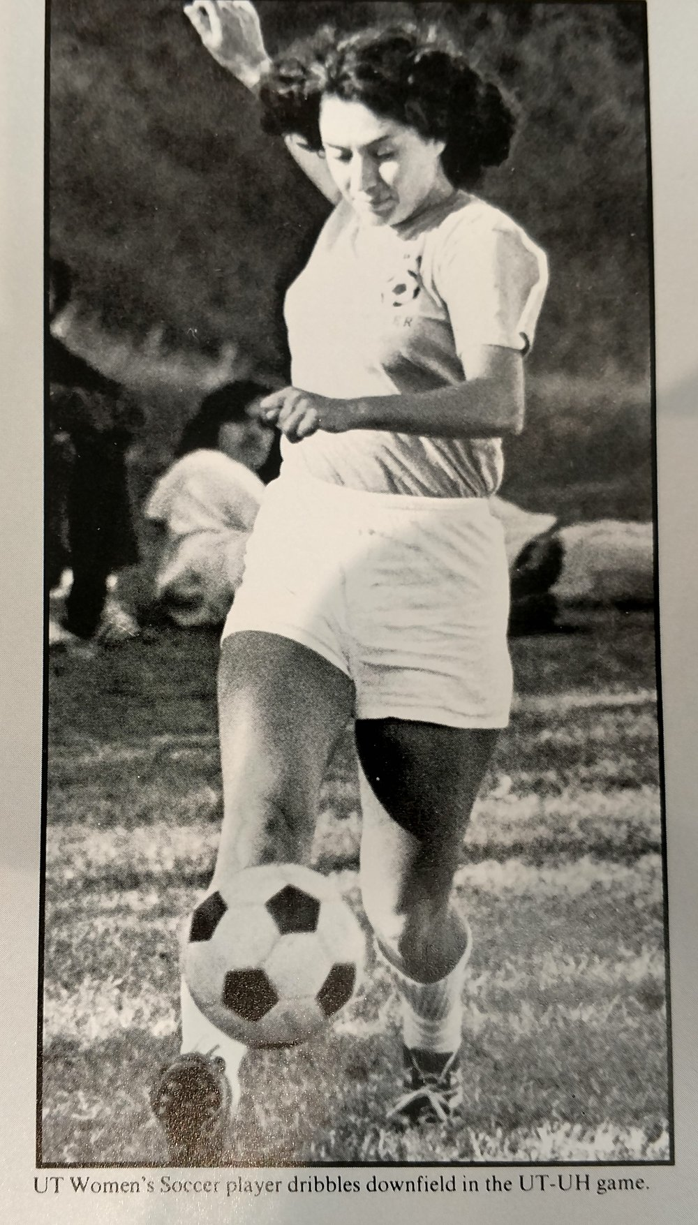 In 1978 - Soccer was still a Club sport and not recognized by the AIAW