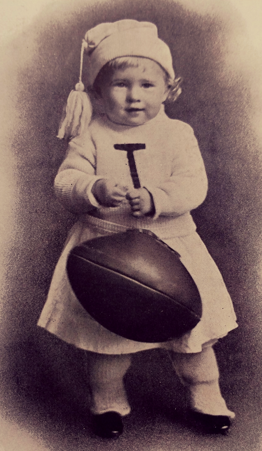 "1908 photo of Future Longhorn football Captain Duncan - Image is from the ""Cactus"""