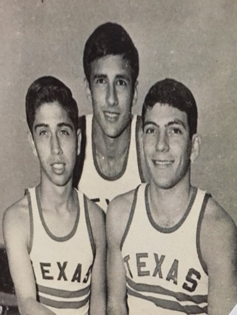 Left to Right: Rudy Alaniz, David Matin, L.J. Cohen. All are from Corpus Christi. Photo compliments of L.J. Cohen.